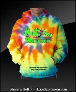Logo & Towing For Wichita Multi Colored SweatShirt Design Zoom