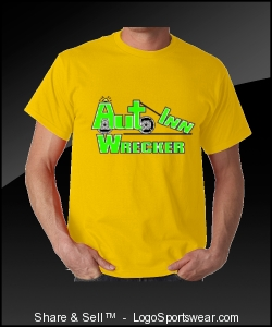 Logo T-Shirt With Multi Color Wrecker Design Zoom